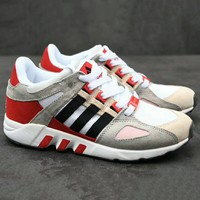 Adidas Eequipment Running Women Men Fashion Trending Sneakers Running Sports Shoes Grey+Red G-XYXY-FTQ