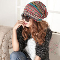 Knitted Women's Oversize Baggie Beanie