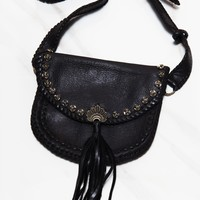KARAKATOA LEATHER FANNY PACK