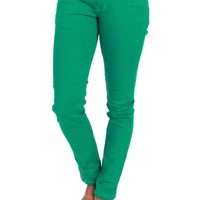 Angel In Green Jeans | Monday Dress Boutique