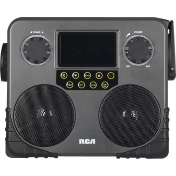 Rca Worksite Weather Radio With Bluetooth