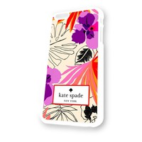 Kate Spade Tahitian Floral White Plastic For iPhone 6 Case