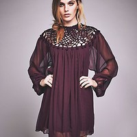 Free People Womens Macrame Mini