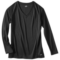 C9 by Champion® Women's Long Sleeve V Neck Tee With Mesh - Assorted Colors