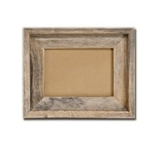5x7 Picture Frames -Signature Barnwood Reclaimed Wood Photo Frames