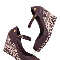 Mel Shoes Wine Not? Wedge