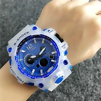 Blue G-SHOCK CASIO Electronic Watch Womens Mens Sports Watch