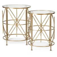 Exeter Tables - Set of 2 | fa15 living4 | Living Room | Inspiration | Z Gallerie