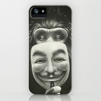 Anonymous iPhone & iPod Case by Dr. Lukas Brezak