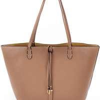 Remi & Reid Departure Tote- Taupe and Beige