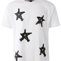 LE3NO Mens Lightweight French Terry Short Sleeve Crewneck T Shirt