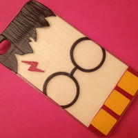 "Mod Podge ""Wizard"" iPhone 4 / 4s Phone Case ""Harry Potter inspired"""