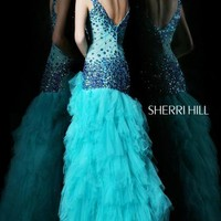 Sherri Hill Dress 21008 at Peaches Boutique