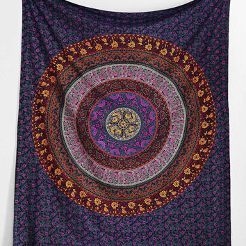 Queen size Indian Mandala Tapestry Hippie Wall Hanging Bohemian Bedspread Dorm Decor