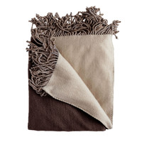 Bonnie Chocolate/Taupe Throw