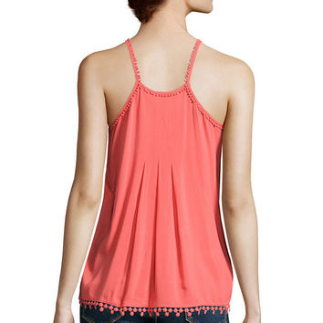 Stylus™ Pleated Cami - JCPenney
