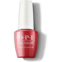 OPI GelColor - Go with the Lava Flow 0.5 oz - #GCH69