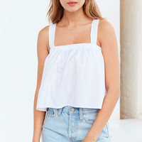 Kimchi Blue Poplin Tie-Back Tank Top - Urban Outfitters