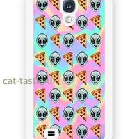case,cover fits samsung models>Tie Dye,alien,pizza,Emoji,emojis,funny,smiley