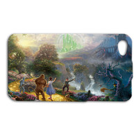 Wizard of Oz Dorothy Tin Man Lion Scarecrow Witch Beautiful Cute Custom Case Cover iPhone 4 iPhone 4s iPhone 5 iPhone 5s