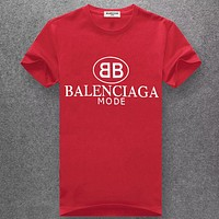 Balenciaga Fashion Casual Short Sleeve Top Tee