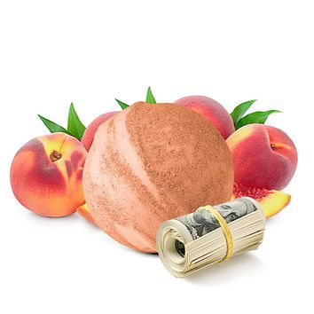 Just Peachy Cash Bath Bomb