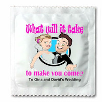 Wedding Condoms, Bachelor Party Condoms, Reception Fun