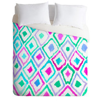 DENY Designs Home Accessories | Amy Sia Watercolour Ikat 2 Duvet Cover