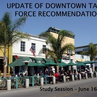 Downtown Task Force Update June 16