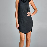 Run Away With Me Cowl neck Tunic Dress