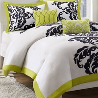 Mallorie 5 Piece Comforter and Duvet Cover Sets - Bed in a Bag - Bed & Bath - Macy's
