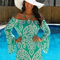 The Lolly Dress in Mint