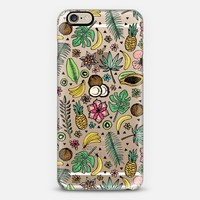 Tropical Fiesta on Clear iPhone 6 case by Tangerine- Tane   Casetify