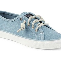Sperry Top-Sider Womens Seacoast Wax Sneakers in Blue STS96996