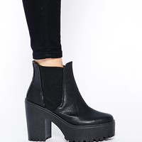 River Island Unit Chelsea Ankle Boots