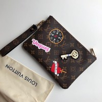 Louis Vuitton Lv Cosmetic Bag W/ Stickers