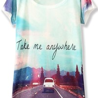 Take Me Anywhere Tee - OASAP.com