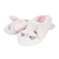 Bella Bunny Slippers - Ivory | Boux Avenue