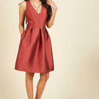 Elegance by Request Fit and Flare Dress | Mod Retro Vintage Dresses | ModCloth.com
