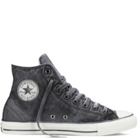 Converse - Chuck Taylor All Star Washed Canvas - Black - Hi Top