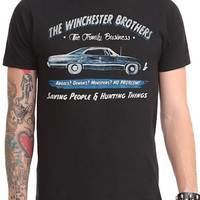 Officially Licensed  Supernatural Business Ad Licensed NEW