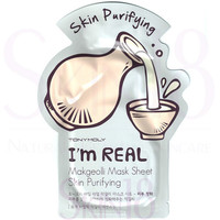 TonyMoly I'm Real Face Mask Sheet - Makgeolli  *exp.date 05/18
