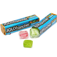 Jolly Rancher Hard Candy Squares Bars - Assorted Flavors: 12-Piece Box