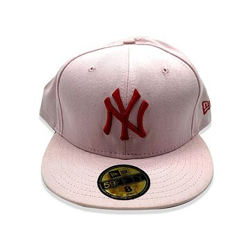 New Era 59FIFTY New York Yankee Pink Fitted Hat