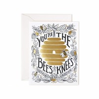 You're the Bee's Knees Greeting Card by RIFLE PAPER Co. | Made in USA