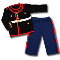 Baby's Marine Corps Dress Blue 2-Piece Set
