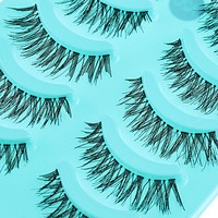 False Eyelashes - 5 Pairs