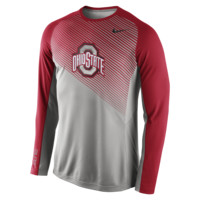 Nike Fearless Shootaround Long-Sleeve (Ohio State) Men's Basketball Shirt