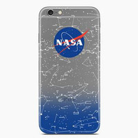 NASA Transparent Iphone 6 6s plus Cases