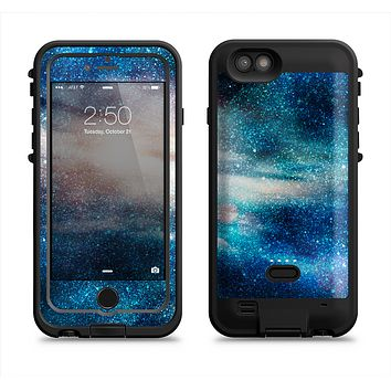 The Blue & Gold Glowing Star-Wave  iPhone 6/6s Plus LifeProof Fre POWER Case Skin Kit